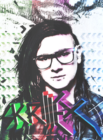 Skrillex Poster Pack by fueledbychemicals