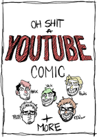 Oh shit a YOUTUBE comic - Cover(??) by Kayroos