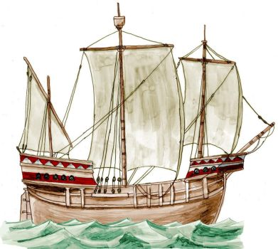 Late Medieval Ship by Kluwe