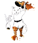 THE FABLES Series -  Puss in Boots by CaterinaOrlando