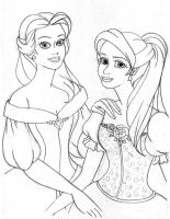 Belle and Vic by Artemisia612