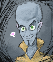 MEGAMIND by flailingwings