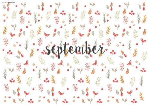 hello september by KiaSuee