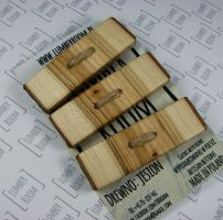 Set of 3 Huge Ash Tree Toggle Buttons Natural Edge by LumberRoom