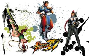 Street Fighter IV - Wallpaper by NikeW