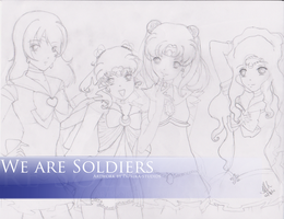 We are Soldiers -SKETCH- by Paprika-Studios