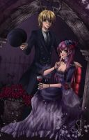 Rei and Sharlin by Selequiel