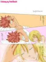 NaLu Doujinshi Colored by PatiChan14