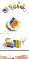 Rainbow Cake Accessories by Bon-AppetEats