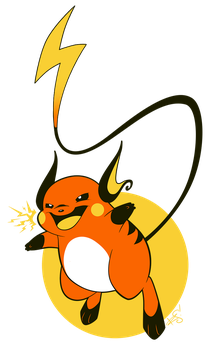 026 - Raichu by the-Mad-Hatress