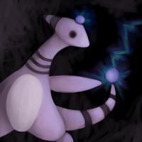Dark Ampharos by suicunedragon