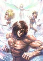 Attack on titan-Titan Corp by ga673899