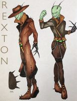 NEW OC RS: Rexton by IISHARKII