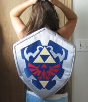 Hylian Sheild Back Pack 2 by Missaninty
