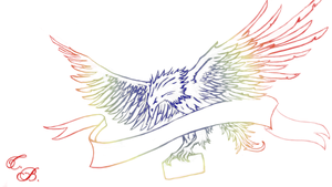 Eagle-Colored by TwinBeastC