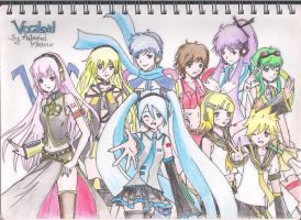 Vocaloid by AnImAtEd-MeDoW