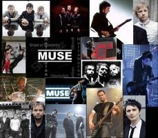 Muse collage by narutoanimefan