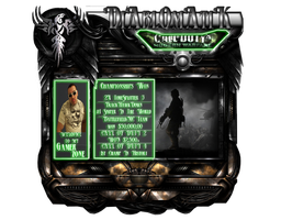 Profile Layout by iEniGmAGraphics