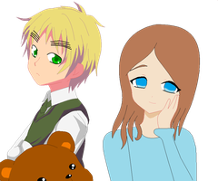 Me and England XD by HeartSong-fim