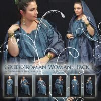 Roman Greek Woman - Pack One by Georgina-Gibson