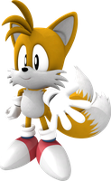 Random Tails Render by IceFoxesDX