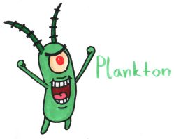 Plankton by YouCanDrawIt
