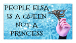 Elsa queen Stamp by blackthunder040997