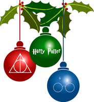 Harry Potter Ornaments by Richard67915