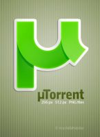 dock icon for uTorrent by mustafahaydar