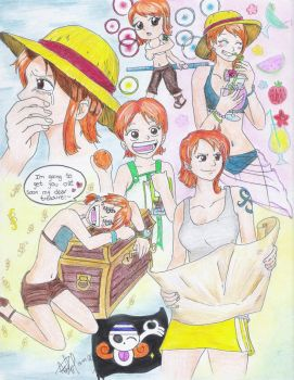 Nami - Colors by Andrea--P