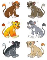 Lion cub adoptables2 CLOSED by Miss-Melis