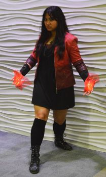 Wanda Maximoff (Age of Ultron) Halloween cosplay by ashweez