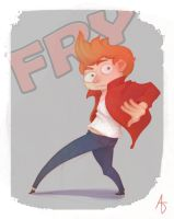Fry! (the most adorable protagonist ever) by TheAshleeH