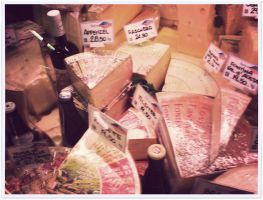 Cheeses in Italy by goodbyeLOVE