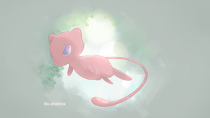 Mythical Pokemon Collection 01 - Mew by AutobotTesla