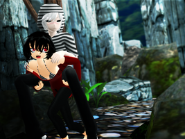 _MMD_ Spider Jockey by xXHIMRXx