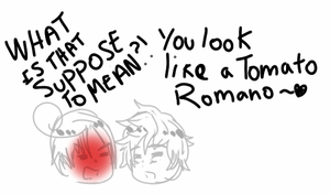 You look like a tomato romano~ by PaulinaSan