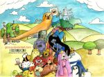 Adventure Time Pictorial by gicouy