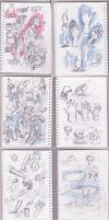 Pages From Sketch Diary by sedatgever
