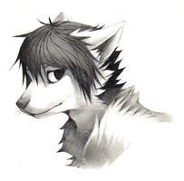 pencil bust commissions - 15 by AtomicFishbowl