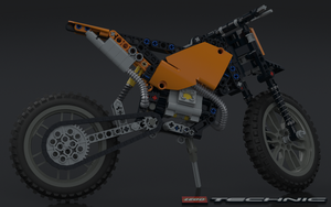 LEGO TECHNIC Motocross Bike 42007 by Dracu-Teufel666