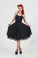 Polka dot dress by GretelMaCabre