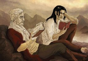 Bookworms by yuhime