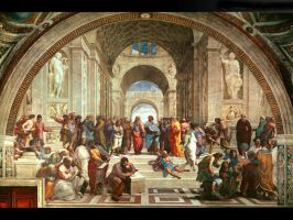 School of Athens by linkingeek