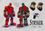 Stryker Character Sheet by ZipDraw