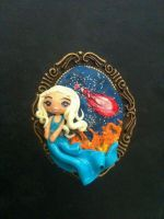 Cameo inspired by Daenerys Targaryen by anapeig