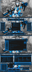 Digital Light BLUE for Win 10 RS2(Creators Update) by Agelyk