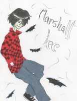 adventure time-marshall lee by F10R3LL4