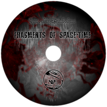 Fragments of Space-Time CD Sticker by GoldenSin