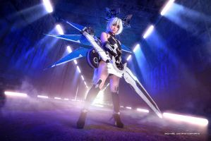 Hyperdimension Neptunia by wkwebsite